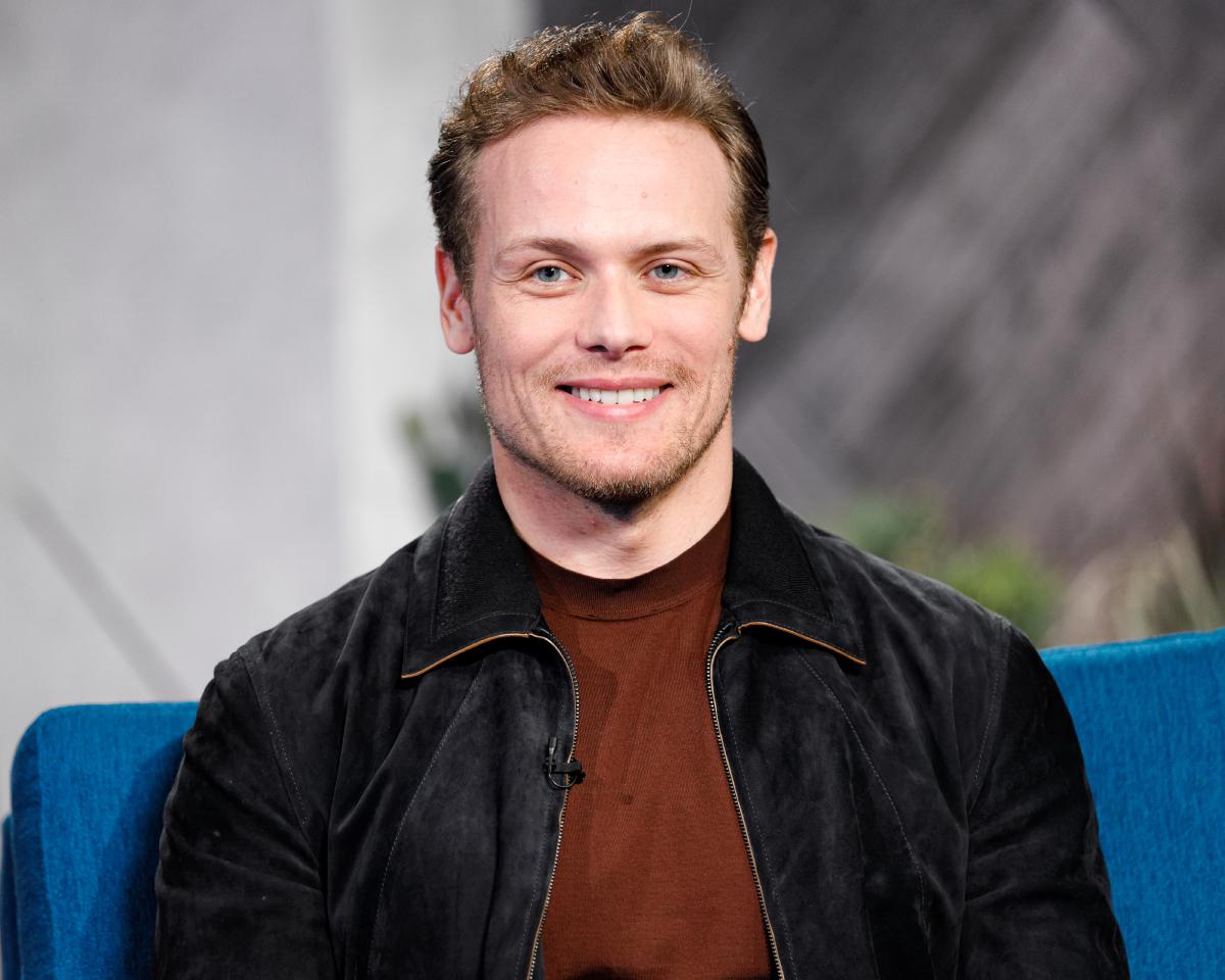'Outlander' star Sam Heughan visit's 'The IMDb Show' on January 13, 2020 in Santa Monica, California