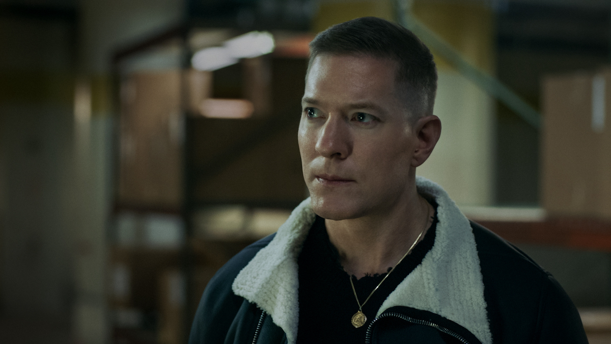 Joseph Sikora looks off to the side as Tommy Egan in 'Power'
