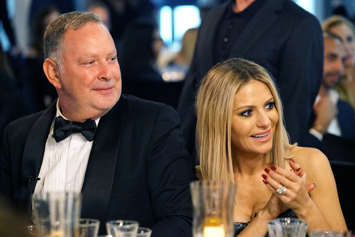 Paul Kemsley and Dorit Kemsley from The Real Housewives of Beverly Hills attend a black-tie dinner