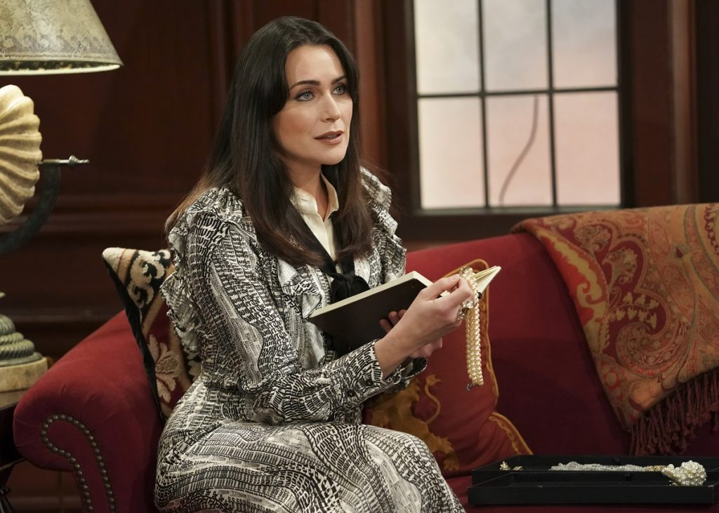 Rena Sofer as her character Quinn Fuller in a scene from 'The Bold and the Beautiful.'