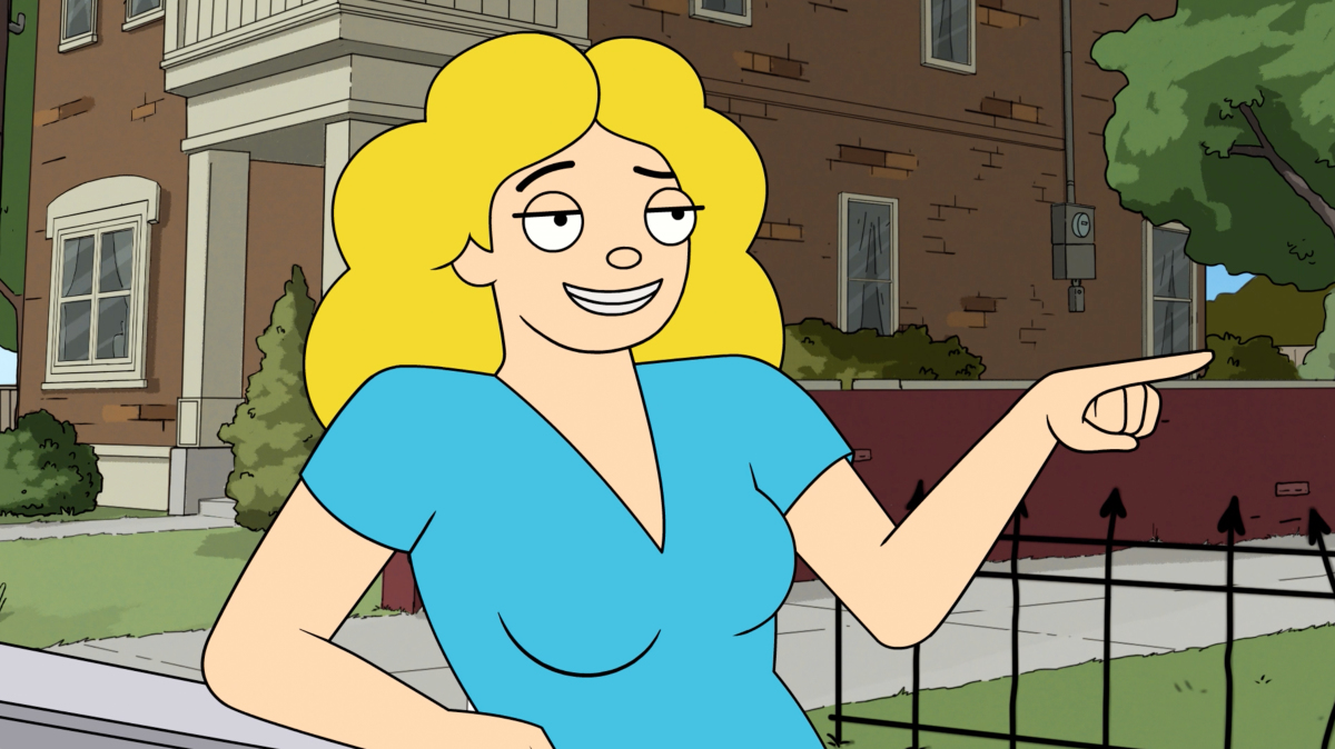 Rhea Seehorn as the voice of Debbie Harper