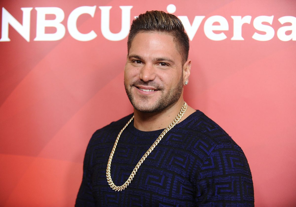 Ronnie Ortiz-Magro attends the 2017 NBCUniversal summer press day The Beverly Hilton Hotel on March 20, 2017