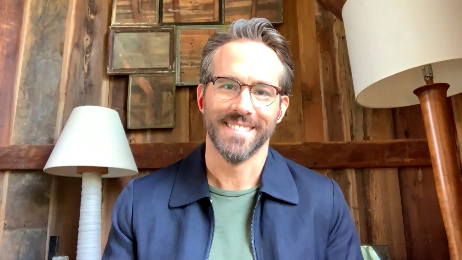 Ryan Reynolds appearing on 'The Tonight Show Starring Jimmy Fallon'