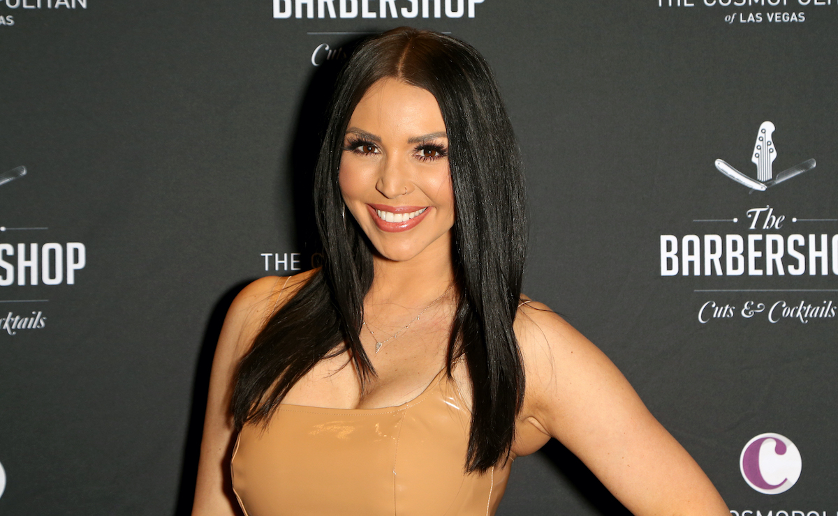 Scheana Shay from Vanderpump Rules attends a red carpet event in 2019
