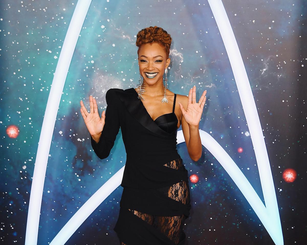 Sonequa Martin-Green at the premiere of 'Star Trek: Discovery' Season 2, 2019