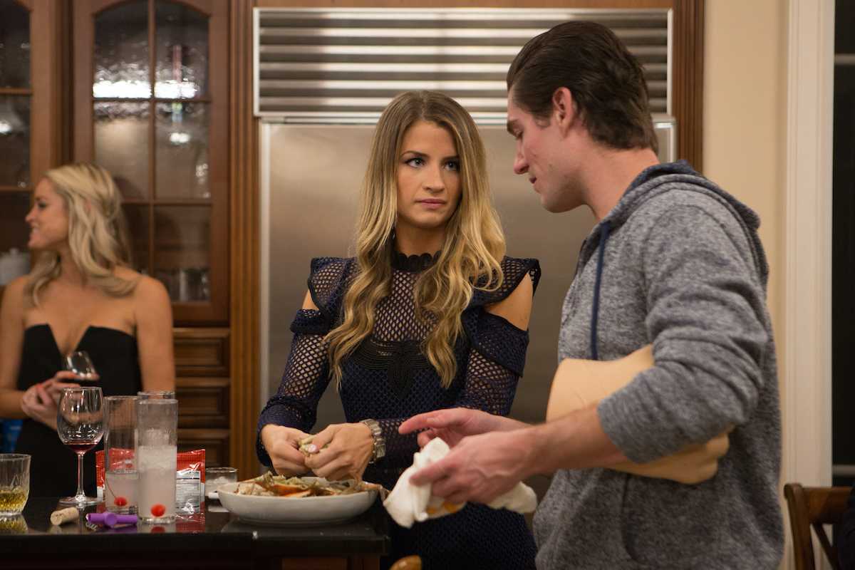 Naomie Olindo and Craig Conover make dinner on Southern Charm