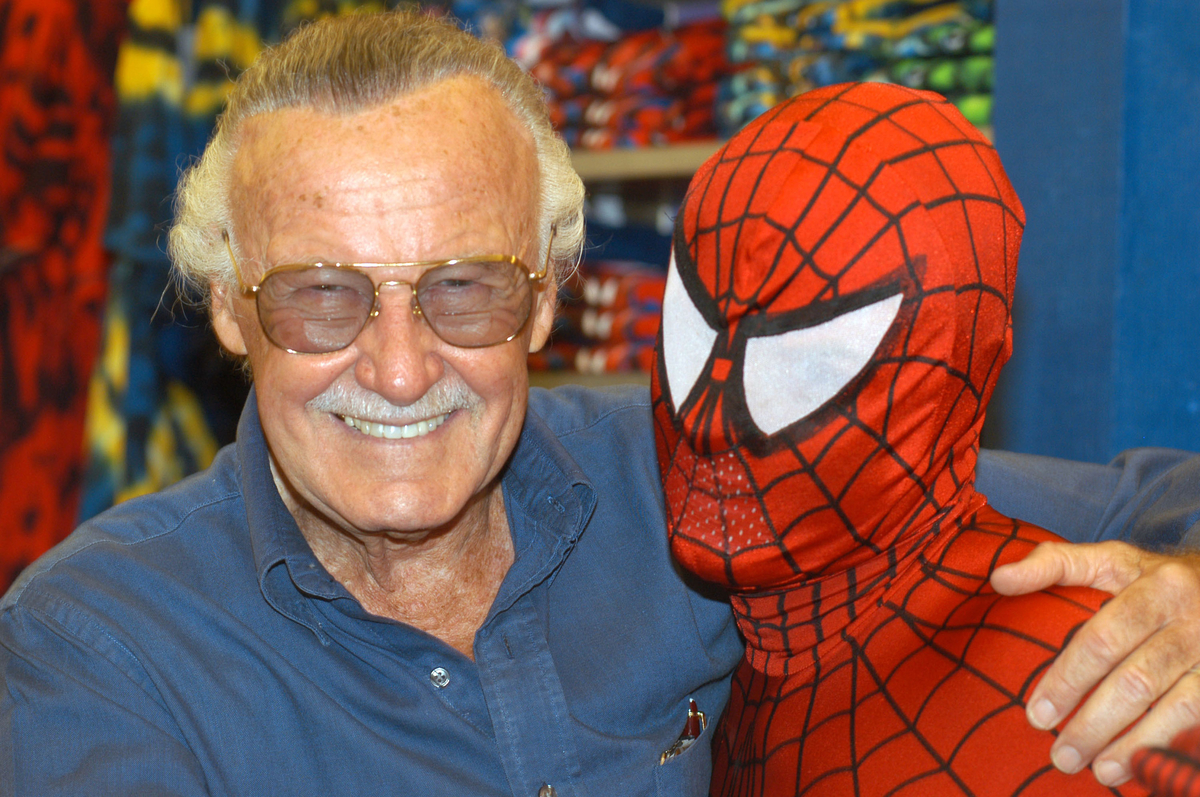 Stan Lee at the Spider-Man 40th Birthday Celebration