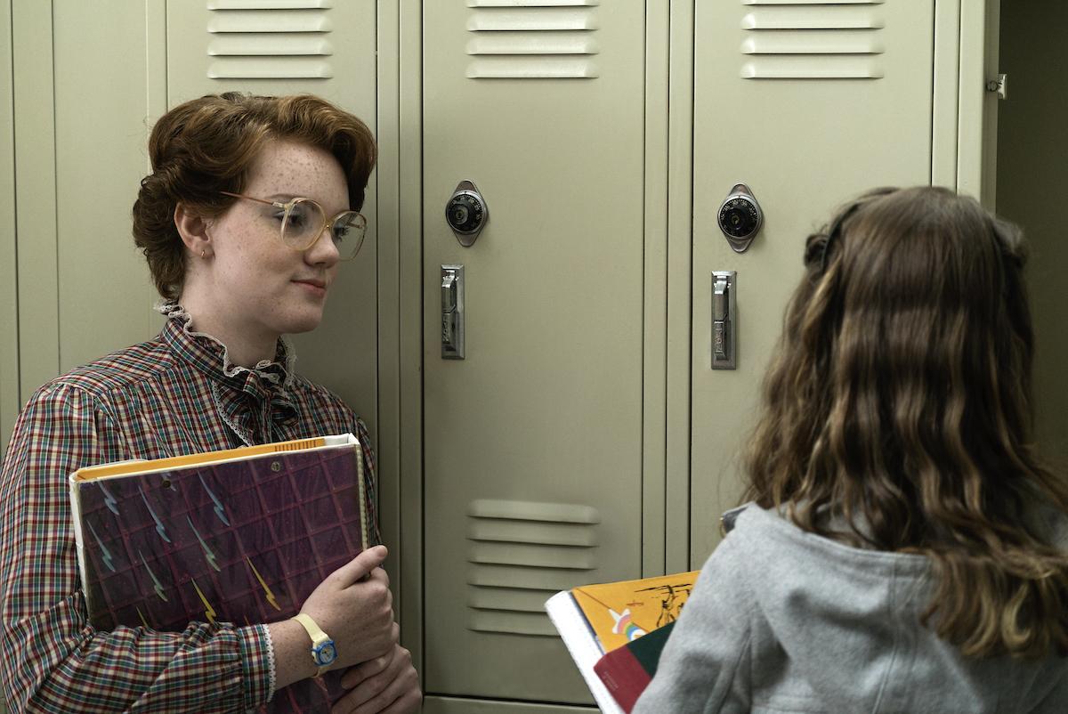 Shannon Purser as Barb Holland in 'Stranger Things' Season 1.