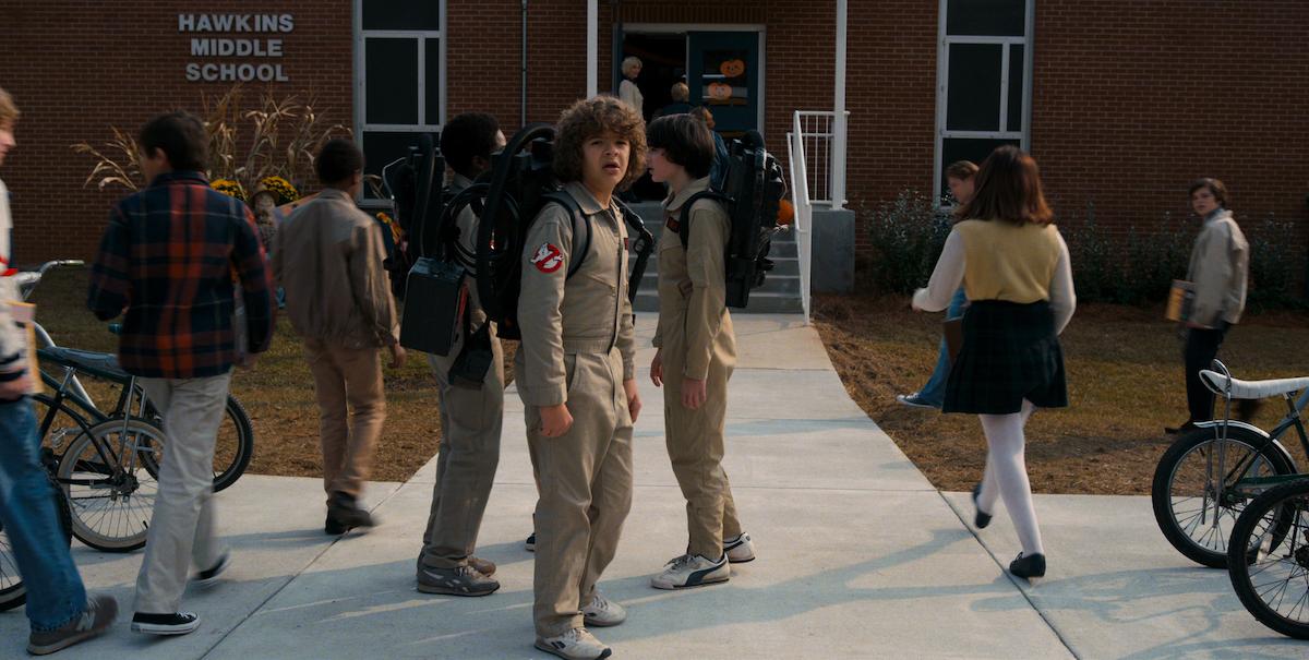 Gaten Matarazzo as Dustin Henderson in a scene from 'Stranger Things' Season 2.