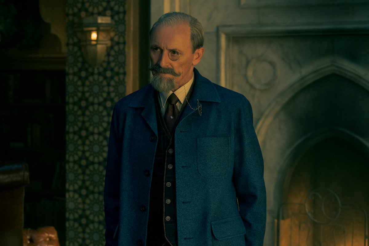 Sir Reginald Hargreeves (Colm Feore) in a production still from 'The Umbrella Academy' Season 2