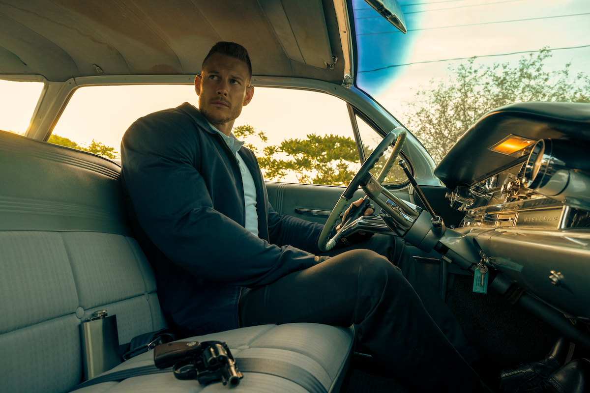 Luther (Tom Hopper) in a production still from 'The Umbrella Academy' Season 2.