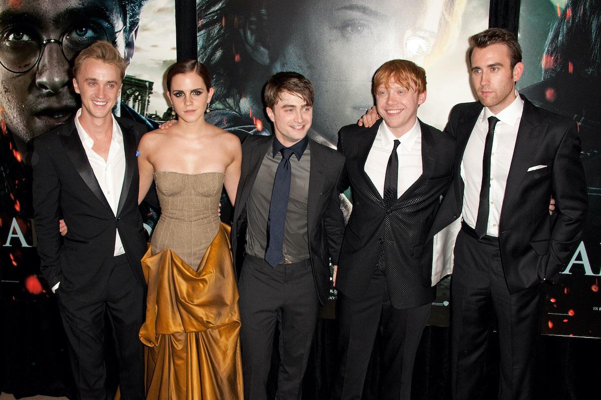 Emma Watson Slapped 'Harry Potter' Castmate Tom Felton Off Camera - Showbiz Cheat Sheet
