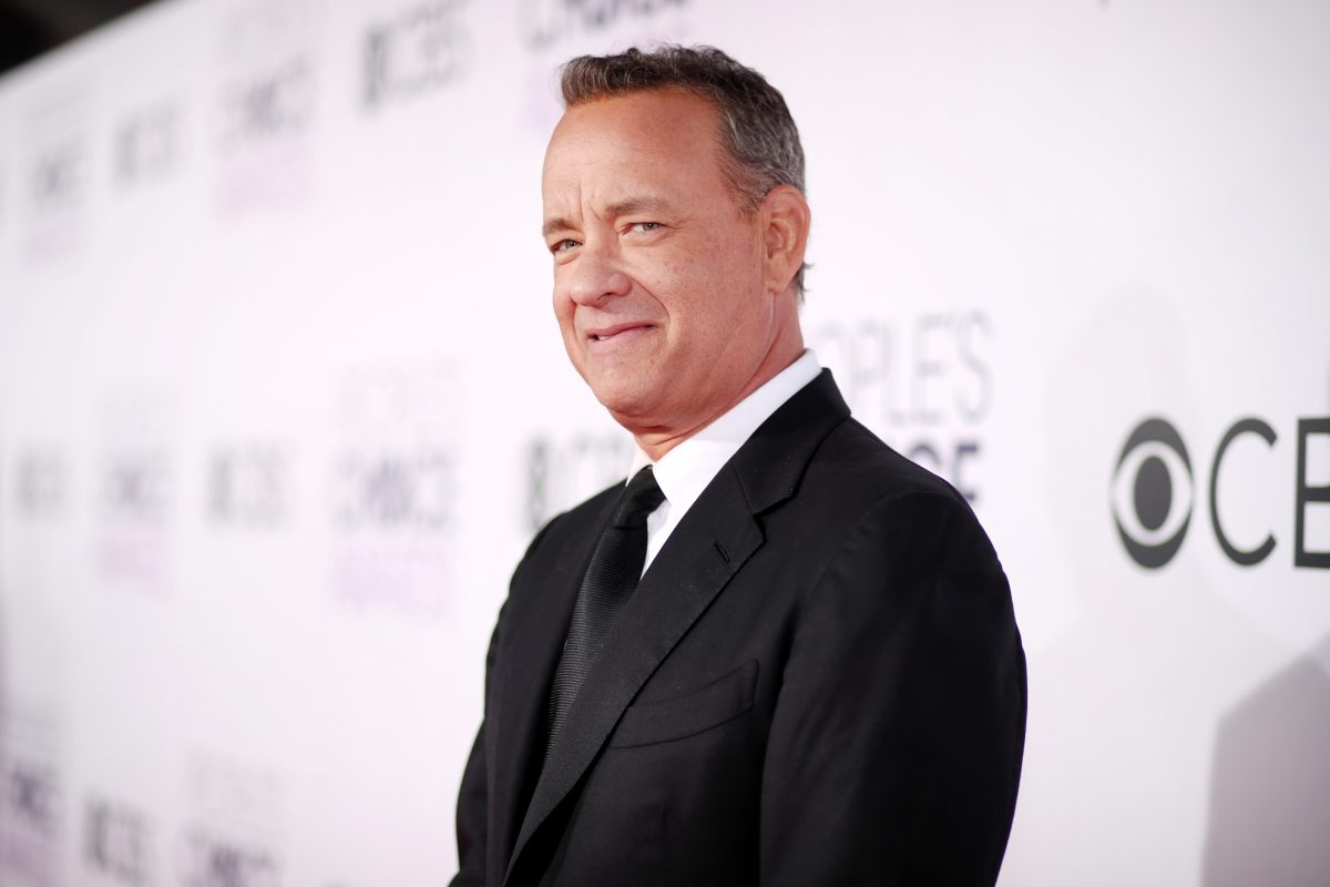 Actor Tom Hanks attends the People's Choice Awards 2017