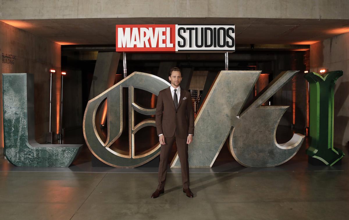 Tom Hiddleston at a special screening of 'Loki'
