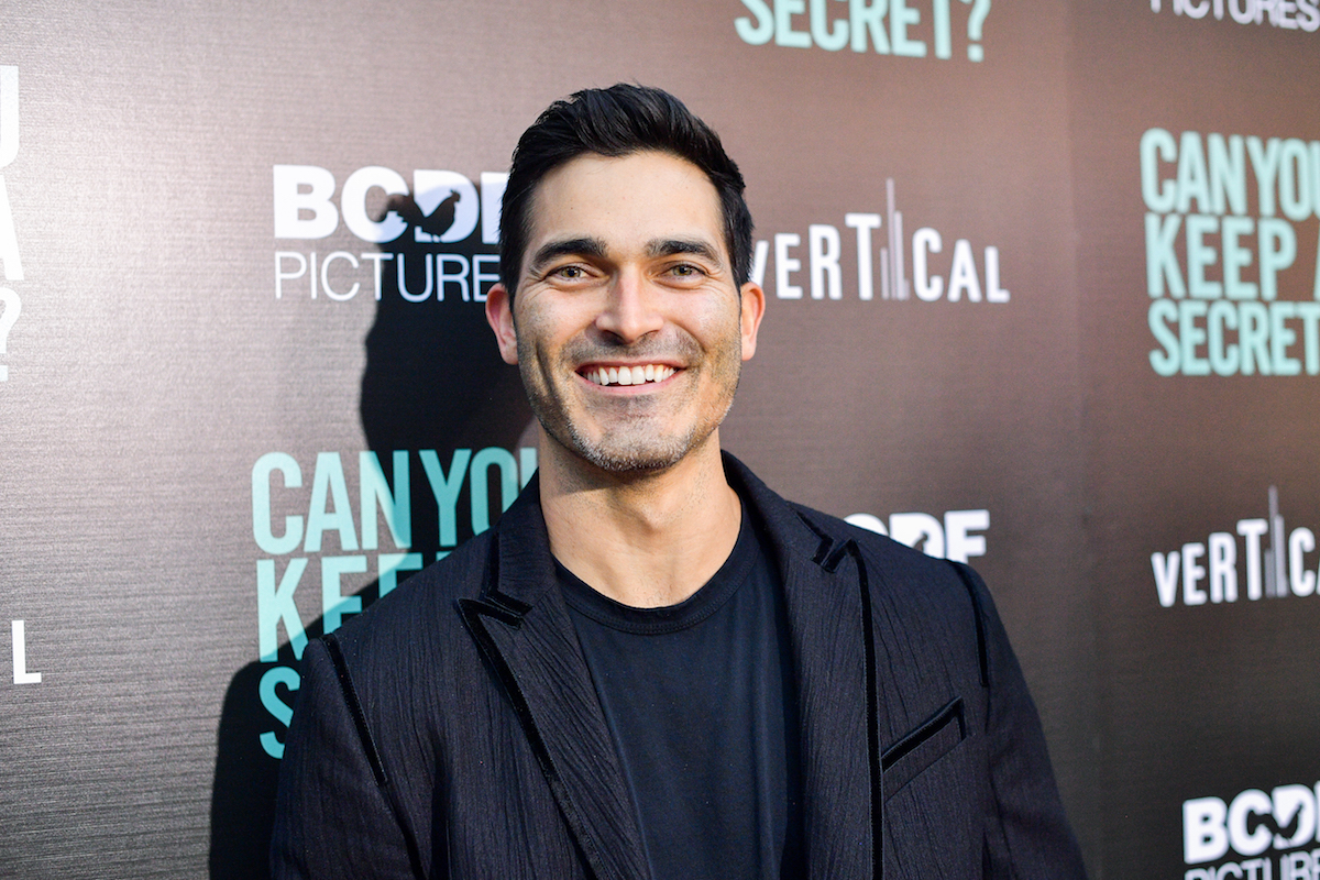 Tyler Hoechlin at the premiere of 'Can You Keep a Secret?'