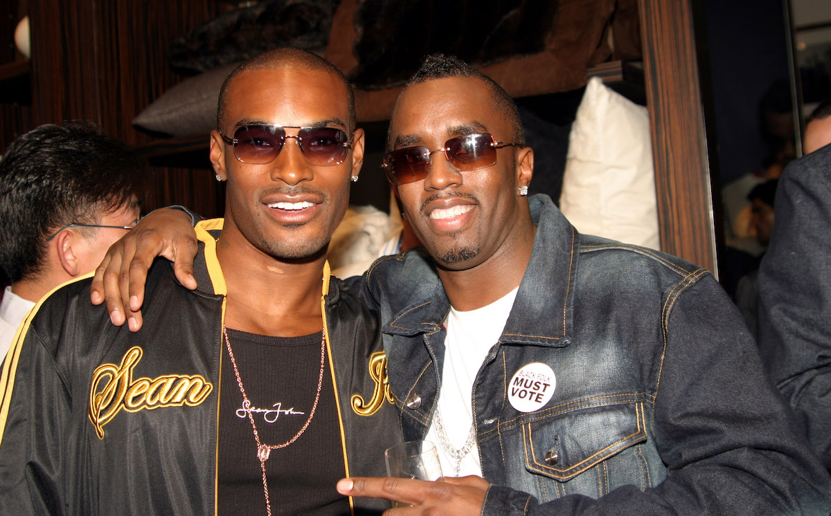 Tyson Beckford and Sean 'Diddy' Combs
