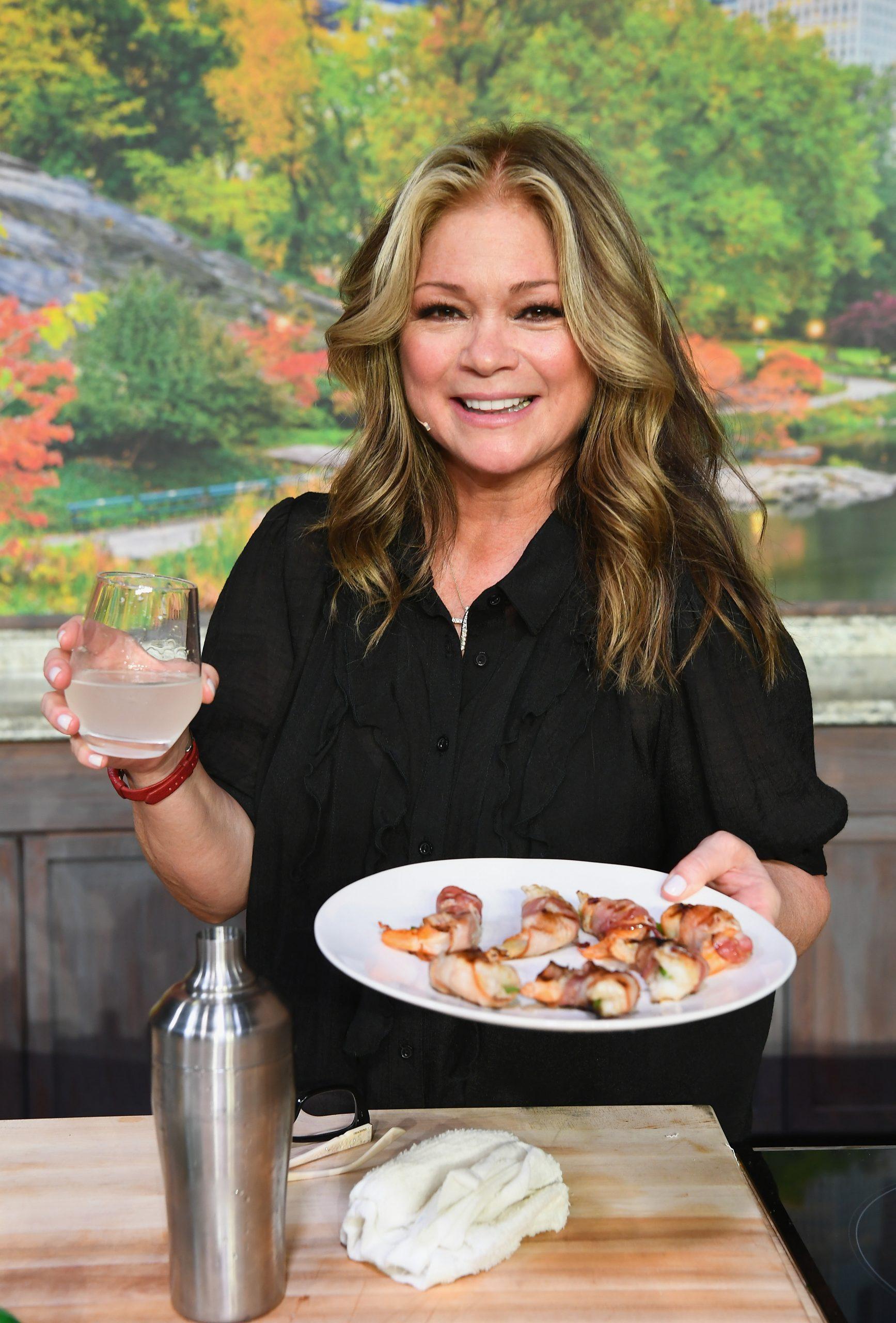 Food Network star Valerie Bertinelli