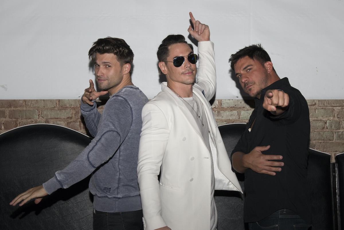Tom Schwartz, Tom Sandoval, and Jax Taylor attend Vanderpump Rules 2016 event