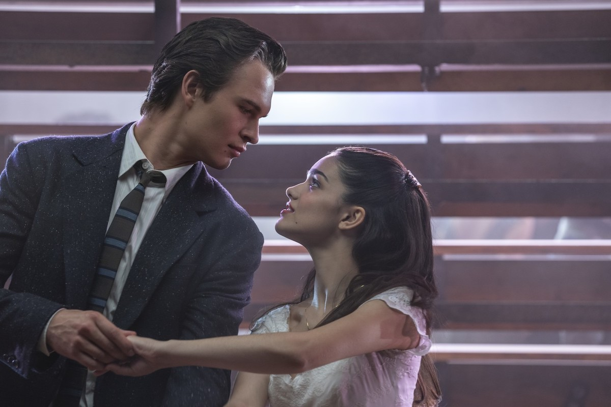 Ansel Elgort and Rachel Zegler star as Tony and Maria in Steven Spielberg's adaptation of 'West Side Story