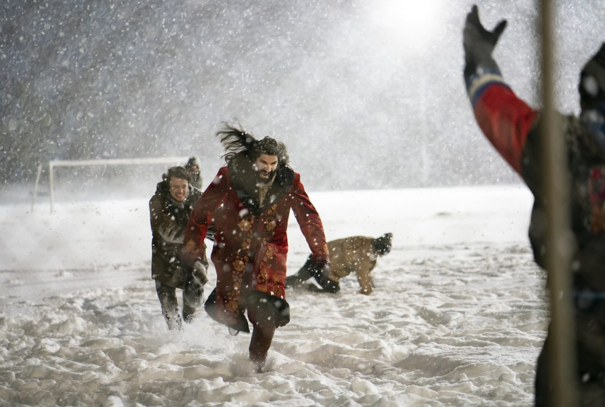What We Do in the Shadows vampires play kickball in the snow