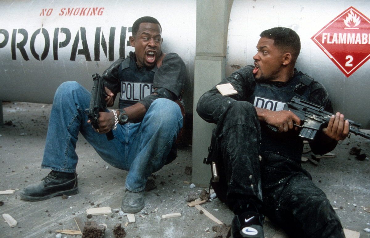 Will Smith and Martin Lawrence in 'Bad Boys'