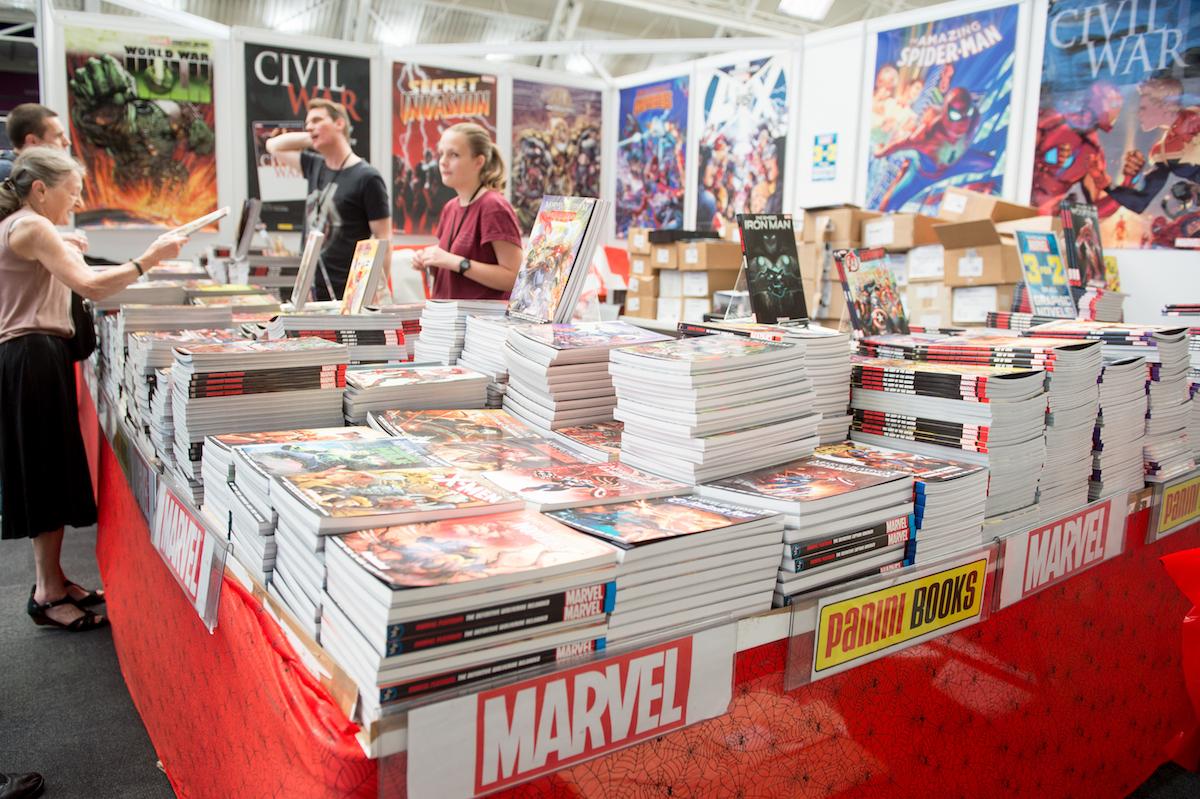 Comic books for sale in London, 2017