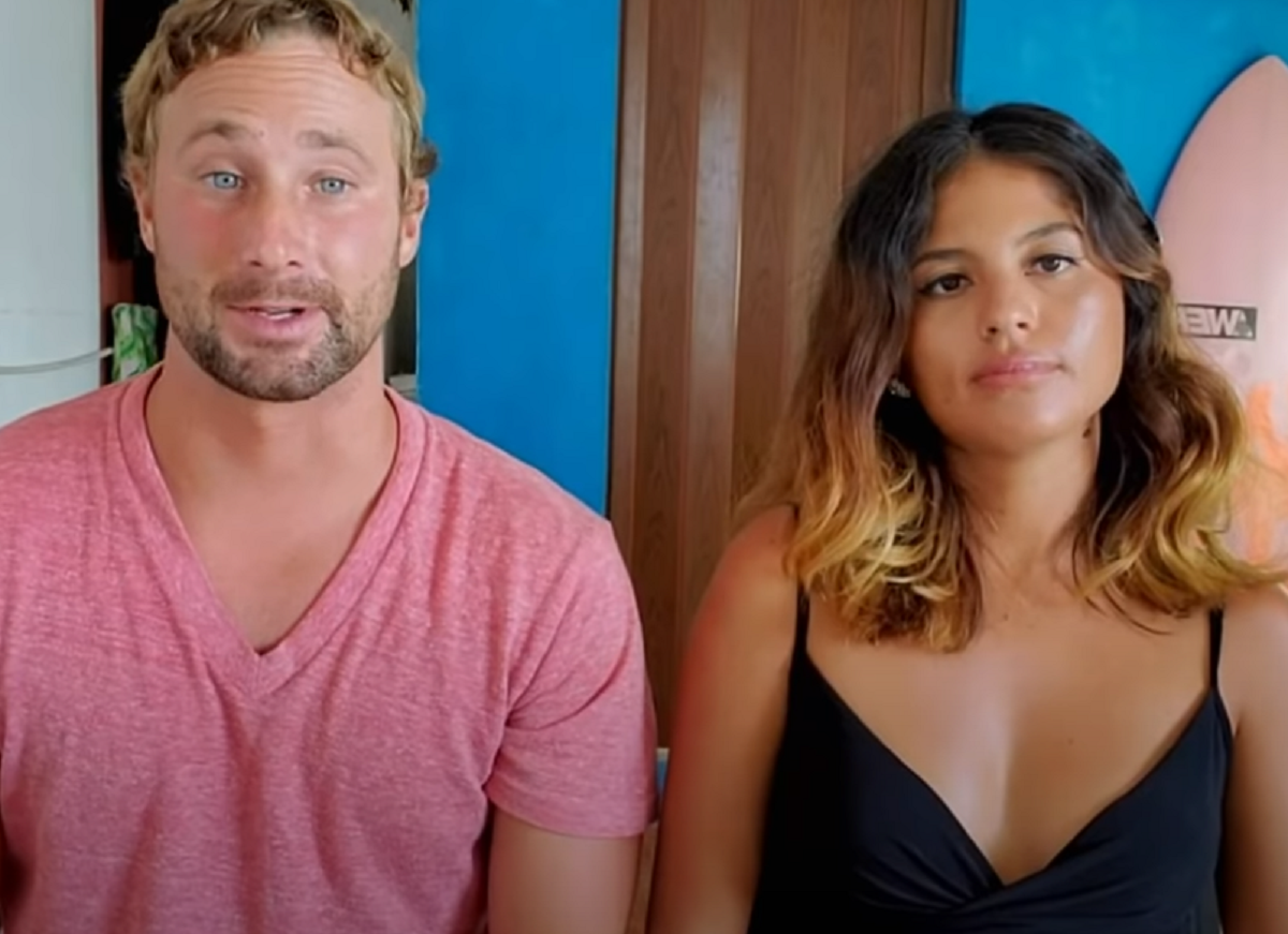 Evelin and Corey on '90 Day Fiancé: The Other Way'