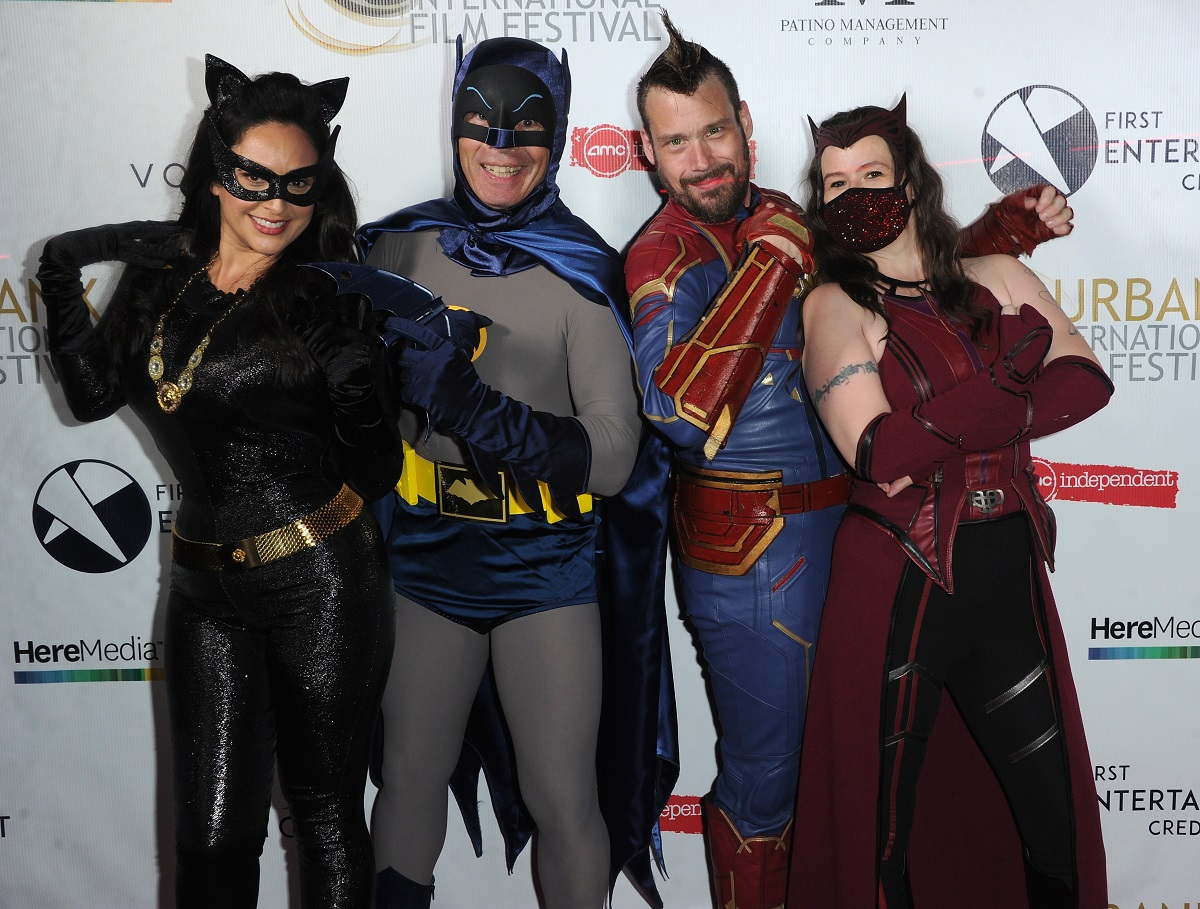 DC vs. Marvel at The Burbank Film Festival on September 11, 2021, in Burbank, California.