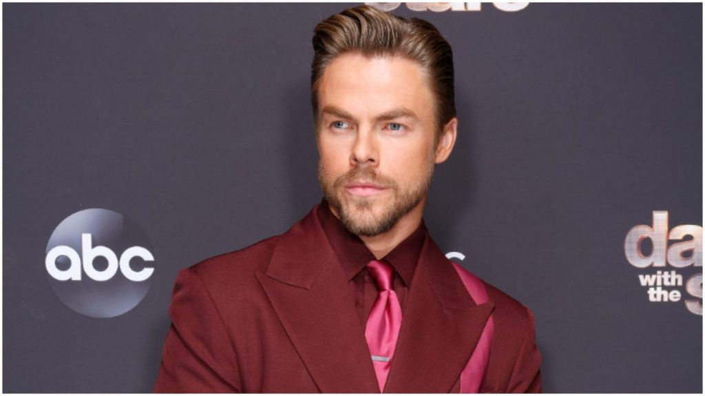 Derek Hough would love to sit next to this celeb on DWTS.