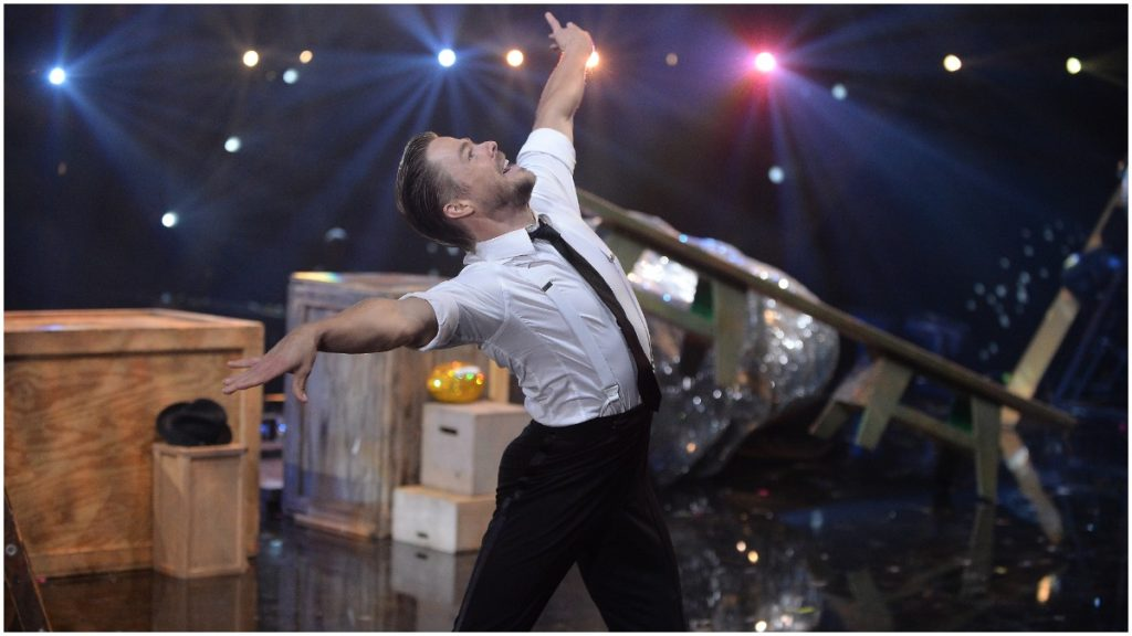 """Derek Hough has won a mirrorball six times on """"Dancing With the Stars."""""""