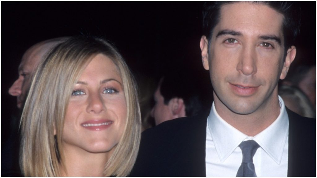 """David Schwimmer and Jennifer Aniston once crushed on one another on the """"Friends"""" set."""