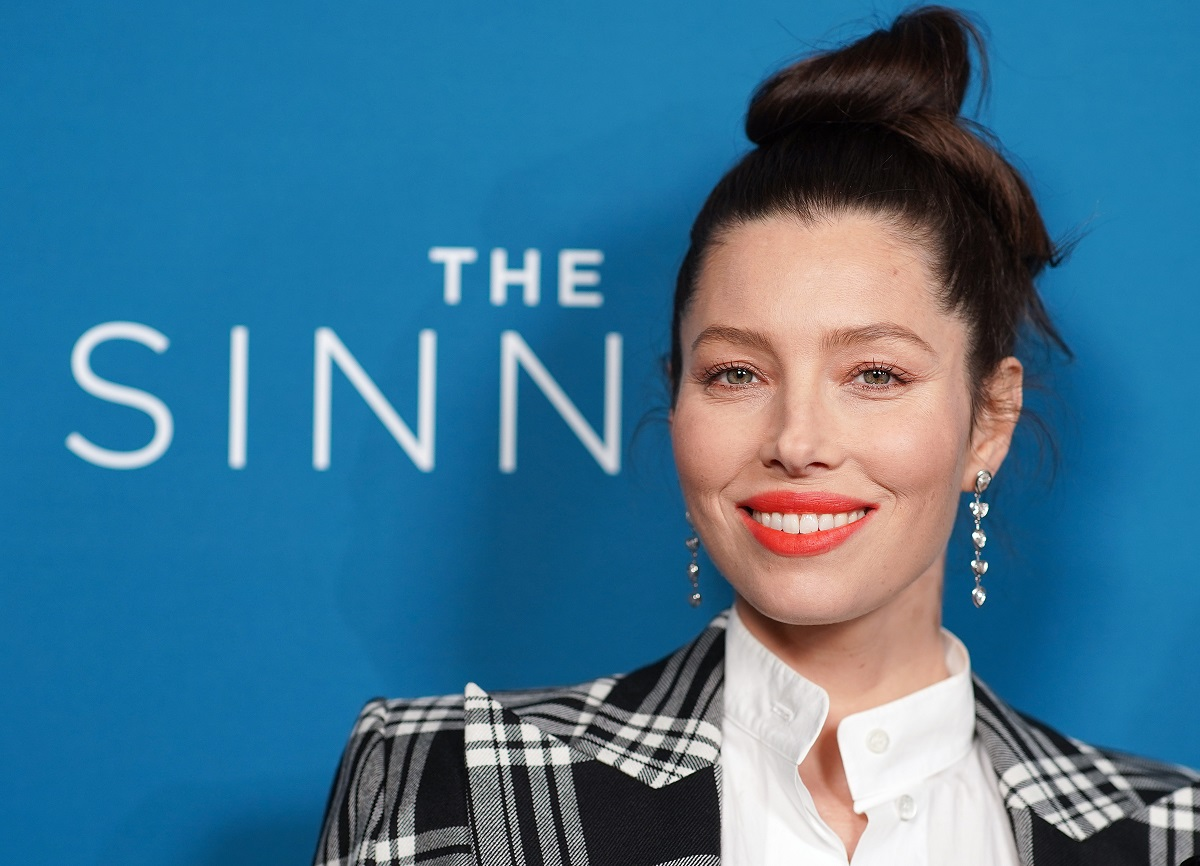 Jessica Biel attends the 'The Sinner' Season 3 premiere on February 03, 2020, in West Hollywood, California.