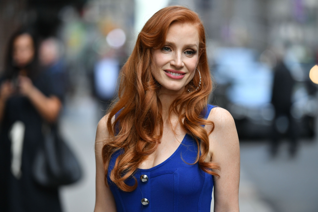 Jessica Chastain in New York, 2021