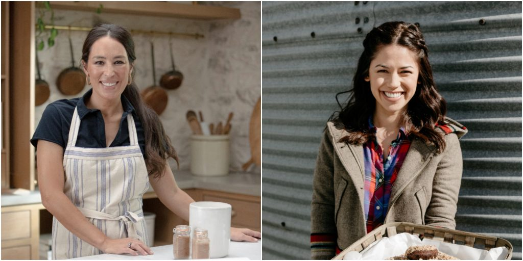 """Molly Yeh and Joanna Gaines star in """"Molly Yeh's Magnolia Adventure"""" on Food Network."""