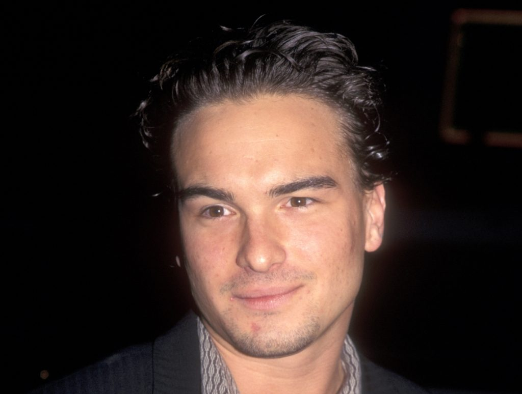 Johnny Galecki attends the 'I Know What You Did Last Summer' Hollywood premiere on October 8, 1997