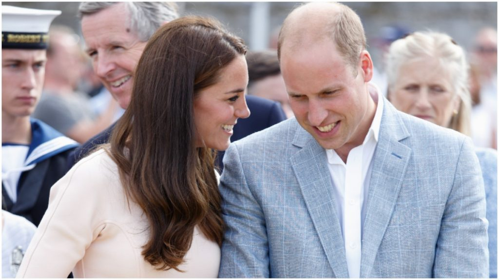 Did Kate Middleton and Prince William, here in a paparazzi photo, live together before marriage?