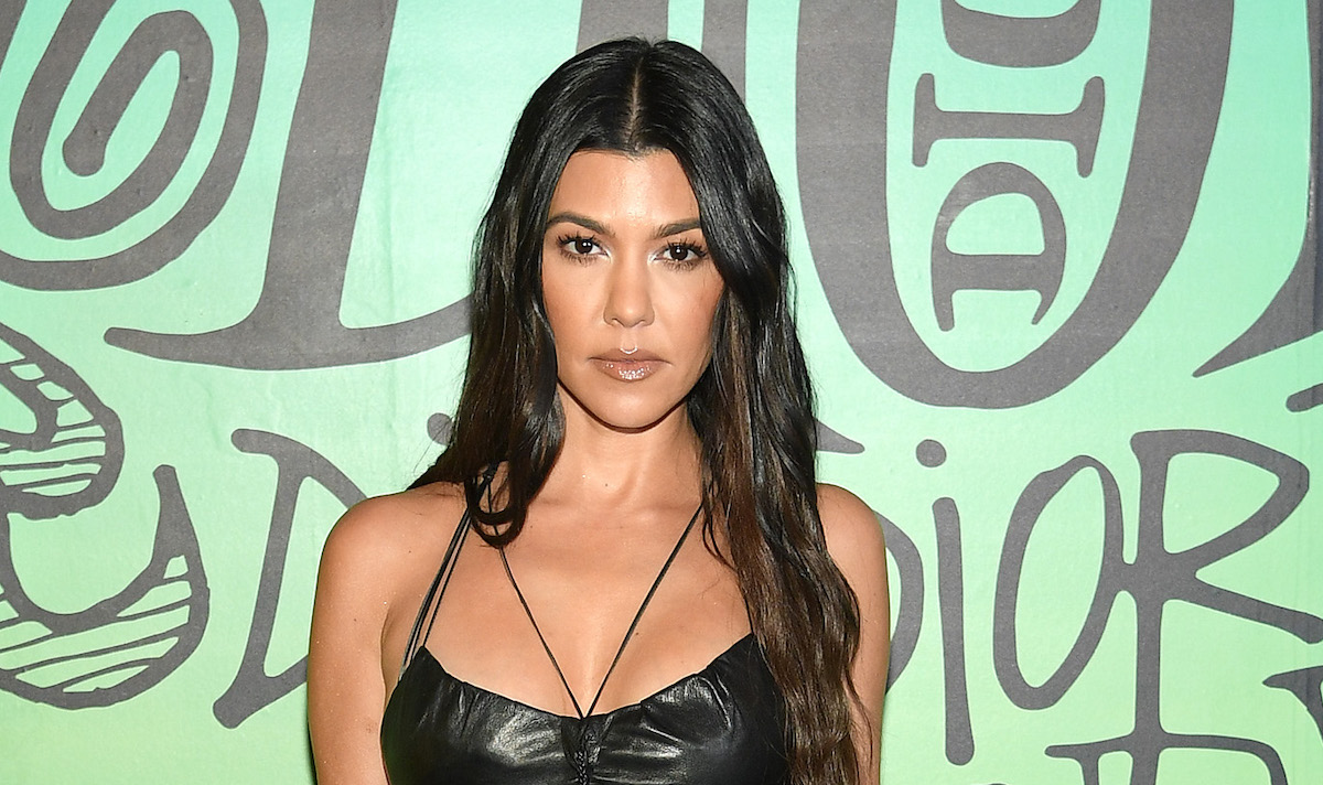 Kourtney Kardashian attends the Dior Men's Fall 2020 Runway Show