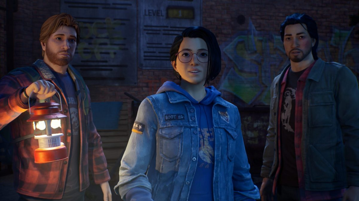 'Life is Strange: True Colors' characters Ryan, Alex, and Gabe