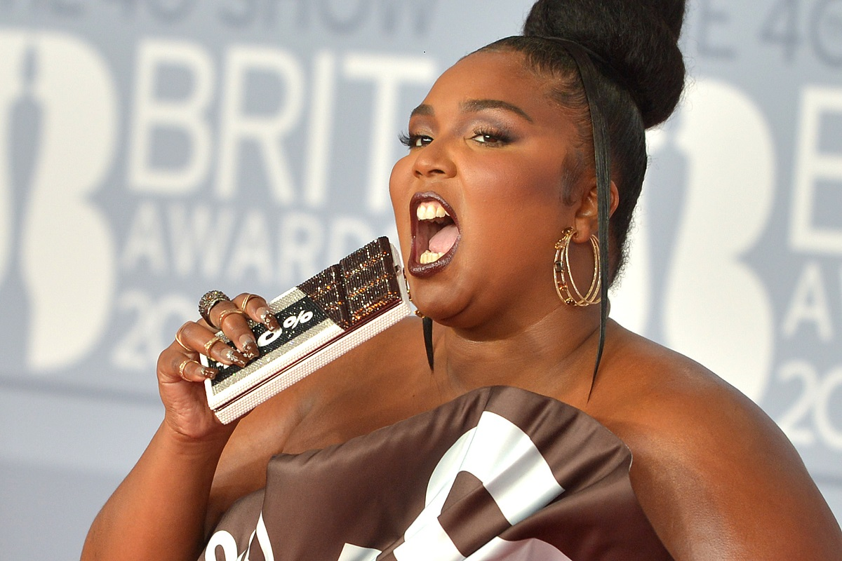 Lizzo attends The BRIT Awards on February 18, 2020, in London, England.
