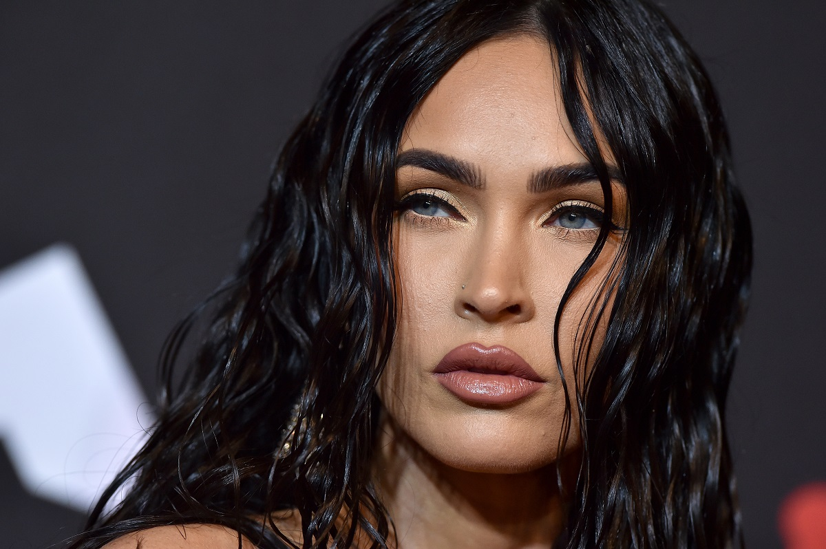 Megan Fox attends the 2021 MTV Video Music Awards at Barclays Center on September 12, 2021, in the Brooklyn borough of New York City.