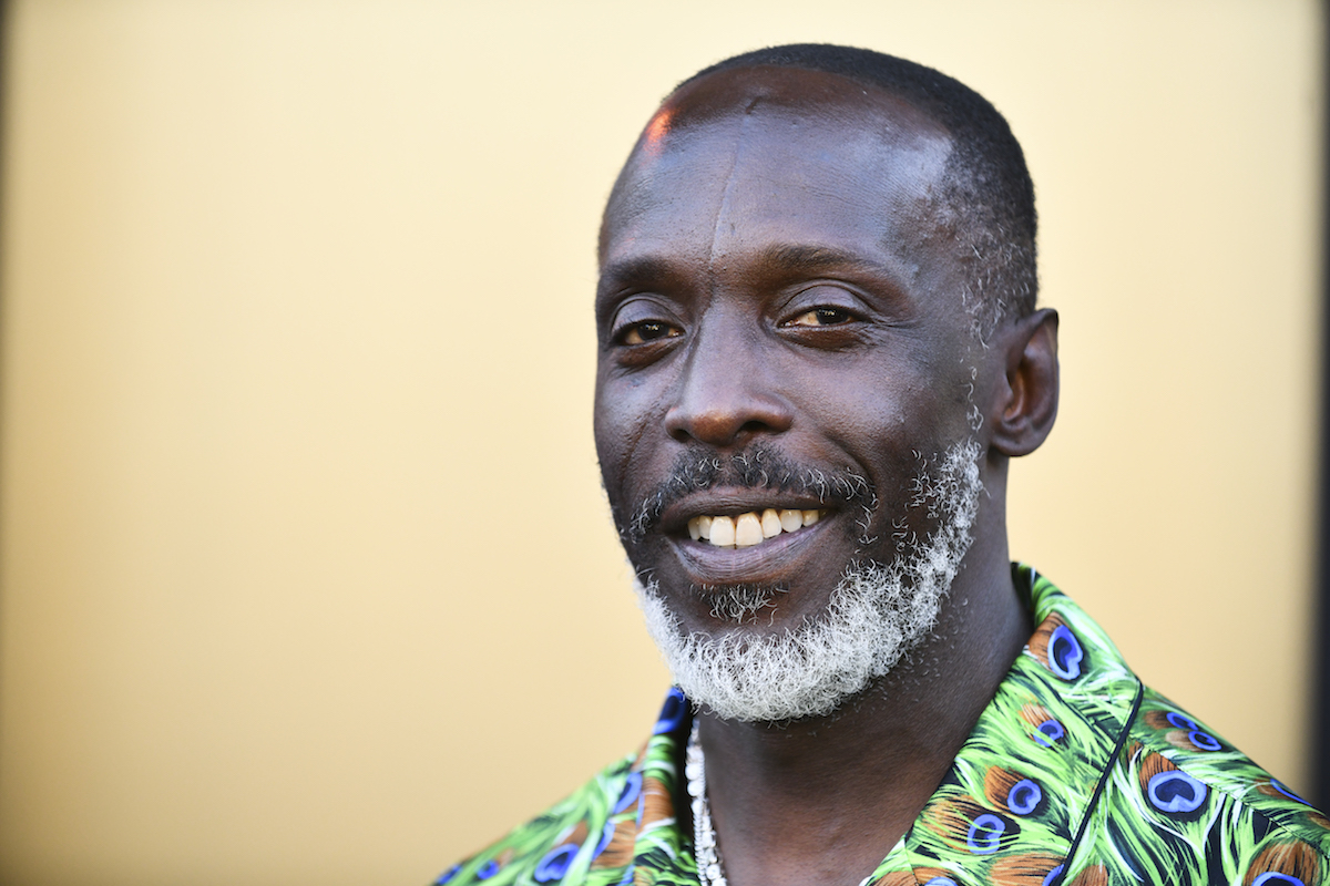 Michael K. Williams at the premiere of 'Respect'