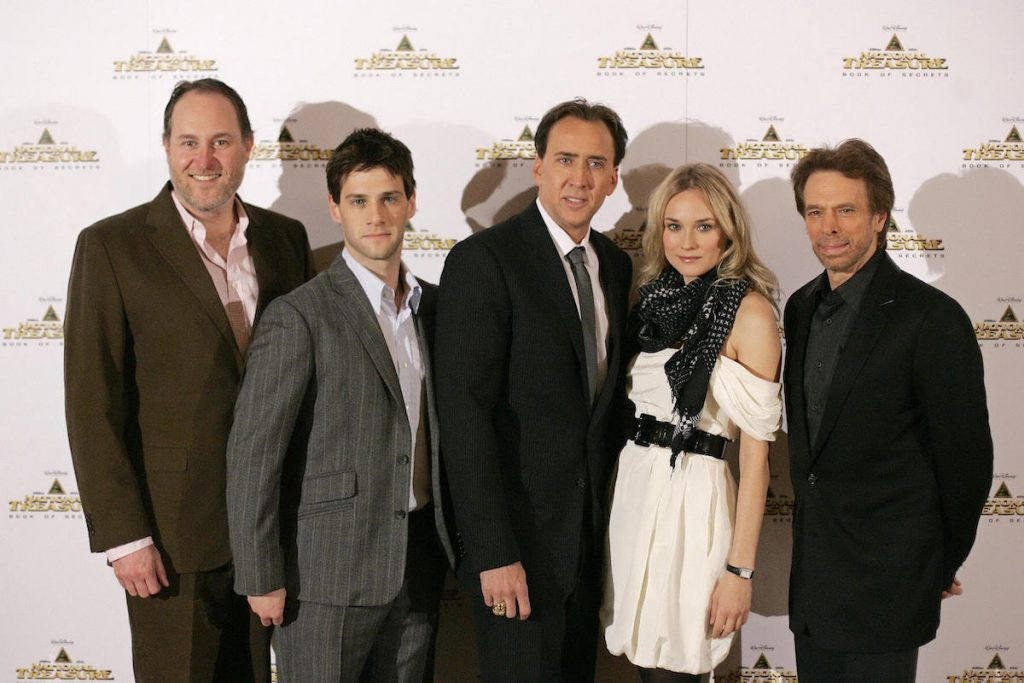'National Treasure' actors pose for a photo