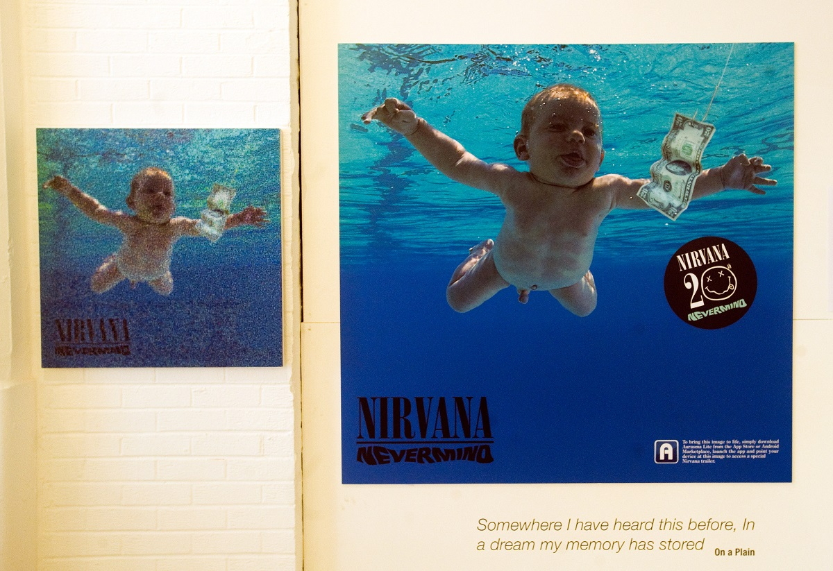 'In Bloom: The Nirvana Exhibition', marking the 20th anniversary of the release of Nirvana's 'Nevermind' album on September 13, 2011, in London, England.