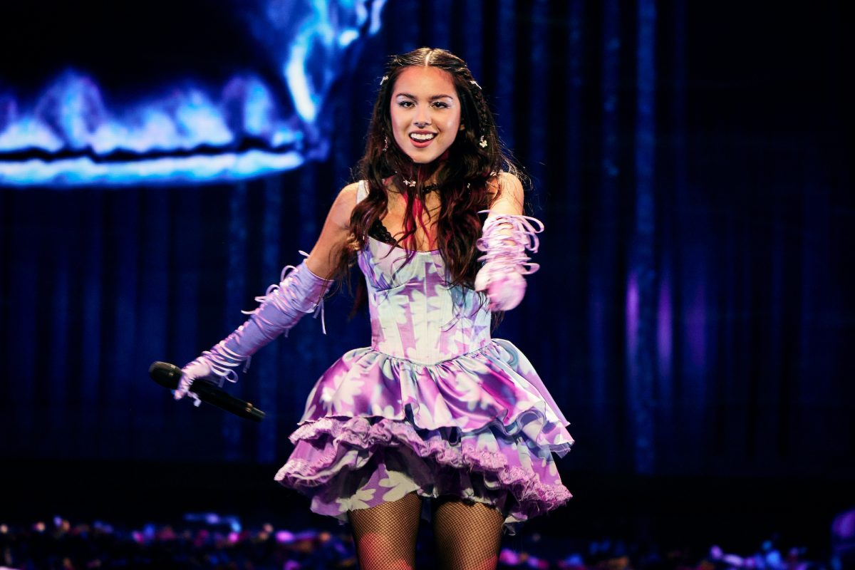 Olivia Rodrigo performs onstage during the 2021 MTV Video Music Awards on Sept. 12, 2021