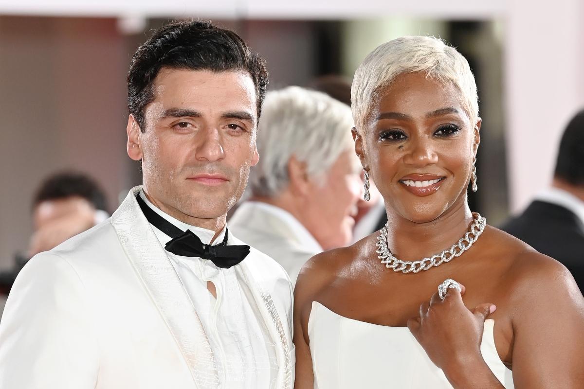 Oscar Isaac and Tiffany Haddish at Venice Film Festival