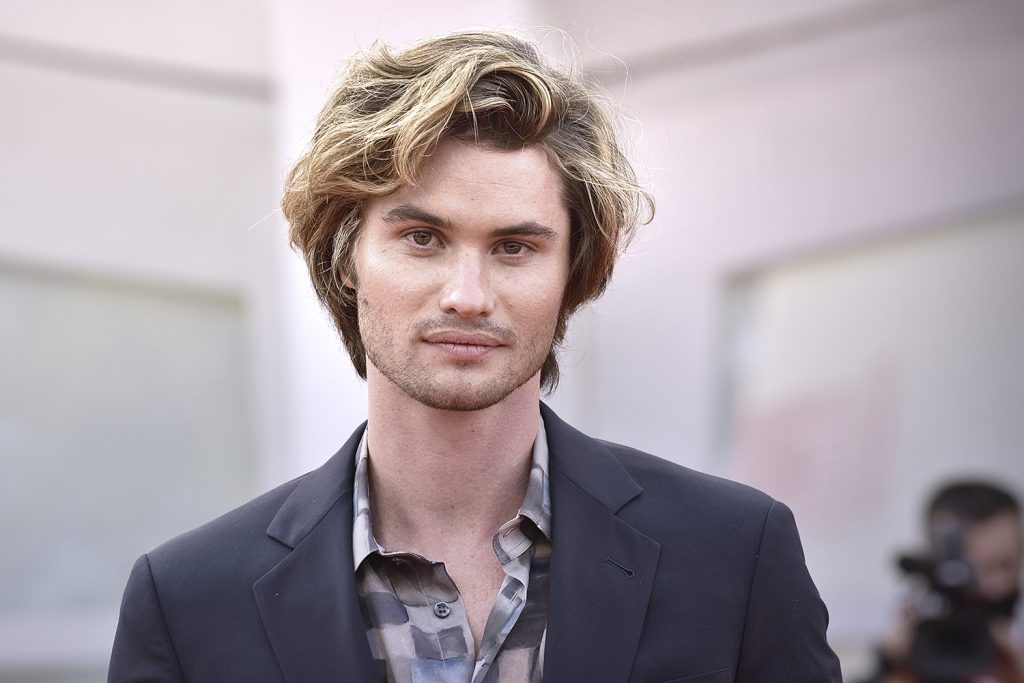Outer Banks star Chase Stokes at the 78 Venice International Film Festival 2021