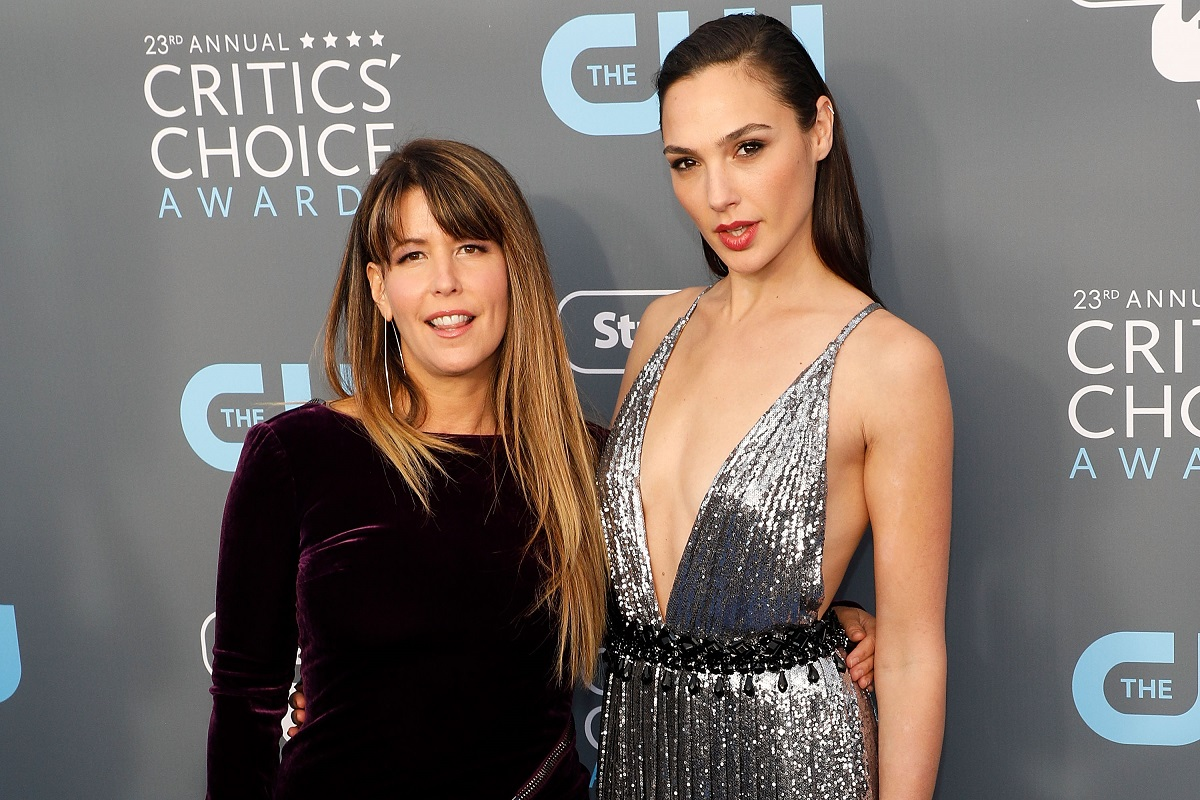 (L-R): Patty Jenkins and Gal Gadot attend the 23rd Annual Critics' Choice Awards on January 11, 2018, in Santa Monica, California.