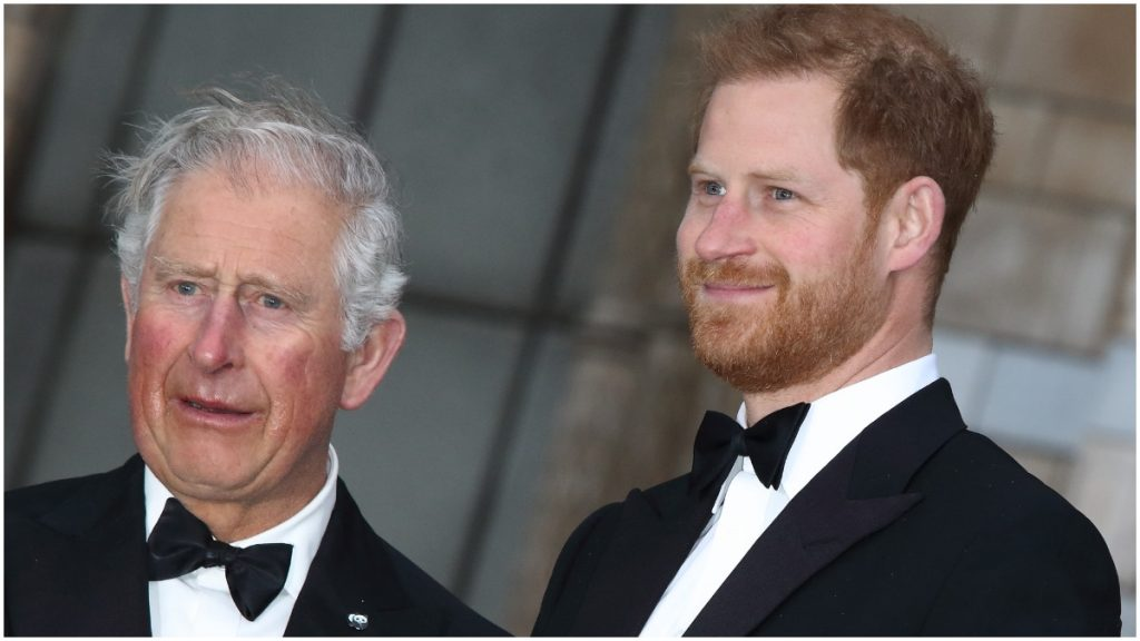 Prince Charles has not yet met his granddaughter Lilibet Diana. the child of his son Prince Harry.