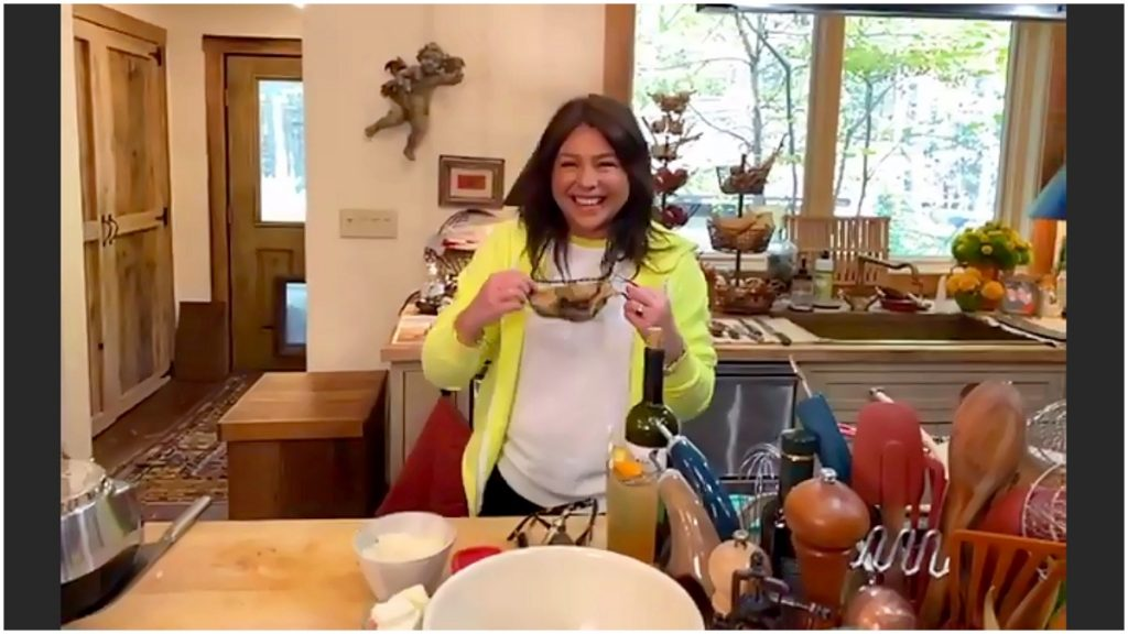 Rachael Ray shared a new video of her rebuilt home one year after house fire.