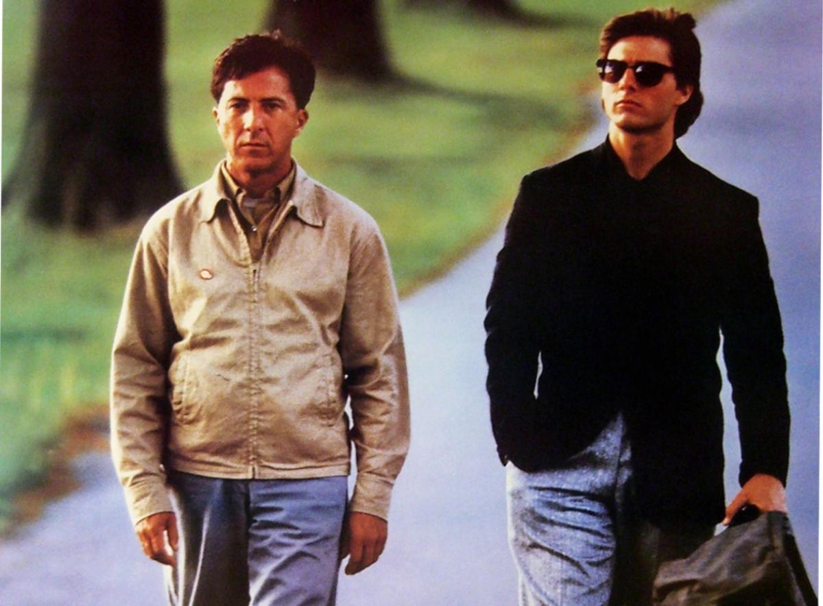 'Rain Man' starring Dustin Hoffman and Tom Cruise, a 1988 comedy